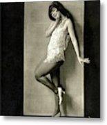 Portrait Of Dancer Ann Pennington Metal Print