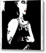 Portrait Of Drina Metal Print