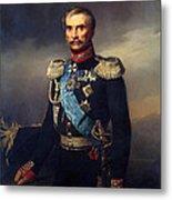 Portrait Of Illarion Vasilyevich Vasilchikov Metal Print