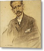 Portrait Of Jacinto Octavio Picon Metal Print