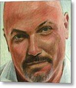 Portrait Of Jamez Ronald Prudlick Metal Print