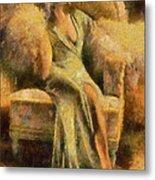 Portrait Of Jean Harlow Metal Print