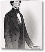Portrait Of Jefferson Davis Metal Print