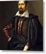 Portrait Of Kaspar Scioppius Metal Print
