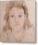 Portrait Of Michie Metal Print