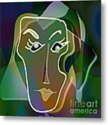Portrait Of Milly Metal Print