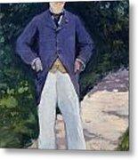 Portrait Of Monsieur Brun Metal Print