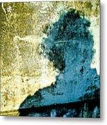 Portrait Of The Artist As Shadow 3 Metal Print