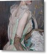 Portrait Of The Countess De Leusse Metal Print