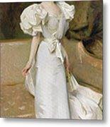 Portrait Of The Countess Of Clary Aldringen Metal Print
