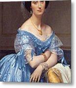 Portrait Of The Princesse De Broglie Metal Print
