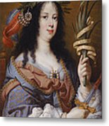 Portrait Of Vittoria Della Rovere As Saint Vittoria Metal Print