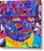 Portraiture Of Passion V2 Metal Print