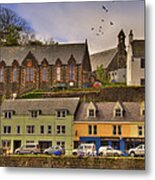 Portree. Isle Of Skye. Scotland Metal Print