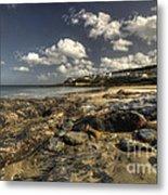 Portscatho Beach  Metal Print