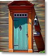 Portsmouth Door 8 Metal Print