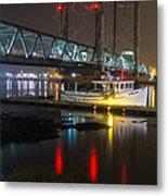Portsmouth Harbor Boats 2 Metal Print