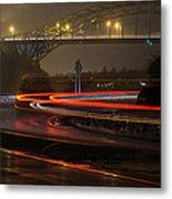 Portsmouth Harbor Bridge Metal Print