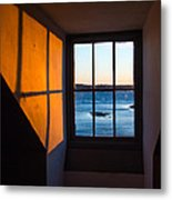 Portsmouth Harbor Fort Mcclarry Metal Print