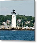 Portsmouth Nh Harbor Metal Print