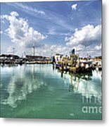 Portsmouth Old Harbour  Metal Print