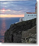 Portuguese Lands End  Metal Print