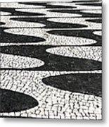 Portuguese Pavement Metal Print