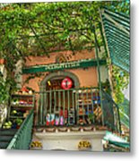Positano Deli Metal Print by Bob and Nancy Kendrick