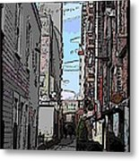 Post Alley 6 Metal Print