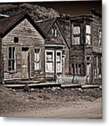 Post At Ten Thousand Feet Metal Print