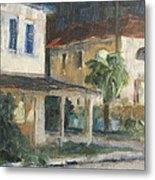 Post Office Apalachicola Metal Print
