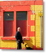 Post Office Tobermory No Stopping Metal Print