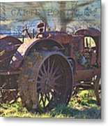 Postcard From The Past Metal Print by Kathy Jennings