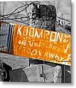 Posted Information 2 Metal Print