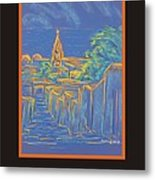 Poster - From The Heights Metal Print by Marcia Meade