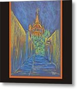 Poster - Parroquia From The Back Metal Print by Marcia Meade