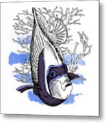 Poster With Image Of Fish Emperor Metal Print