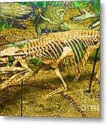 Postosuchus Fossil Metal Print