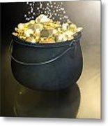 Pot Of Gold Metal Print