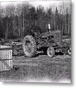 Potato Harvest 15 Metal Print