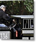 Potawatomi Zoo Miniature Train Engine South Bend Indiana Usa Metal Print