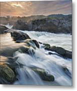 Potomac Light Show Metal Print