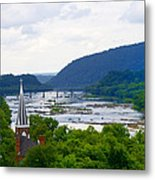 Potomac River At Harpers Ferry Metal Print