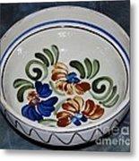 Pottery - Flower Pot Metal Print