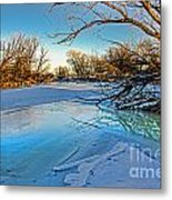 Poudre Ice Metal Print by Baywest Imaging