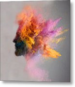 Powder Keg Metal Print