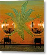 Powder Room Radio City Music Hall Metal Print
