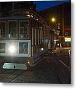 Powell And Market Trolley Metal Print