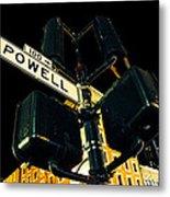 Powell Street Metal Print