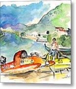 Power Boats World Championship In Barca De Alva 04 Metal Print